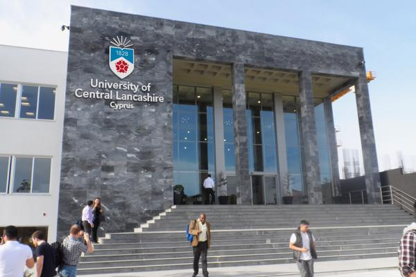 Cyprus Campus main building