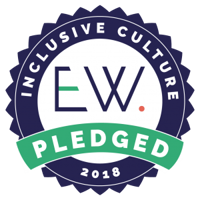 Inclusive Culture Pledged 2018 logo
