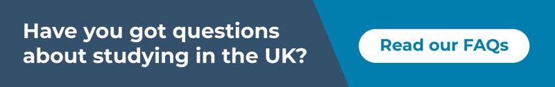 Have you got questions about studying in the UK? Read our FAQs